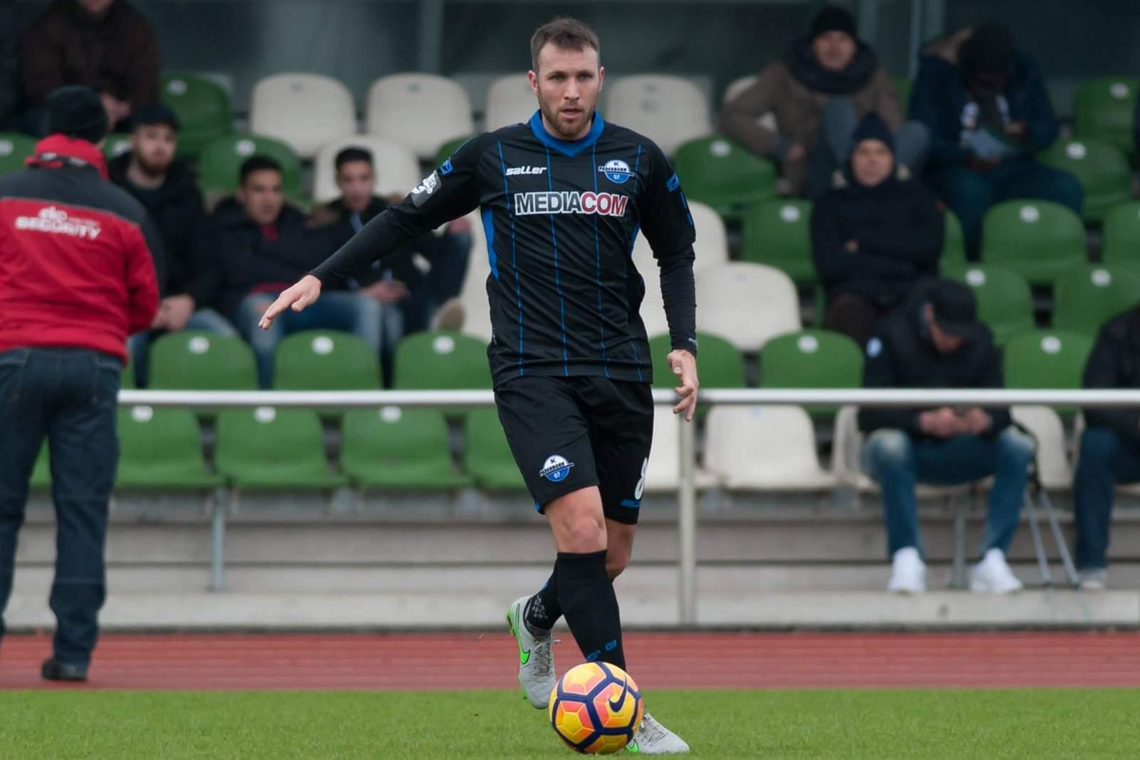 Marc Andre Kruska im Trikot des SC Paderborn. Jetzt wechselt er nach Bremen.