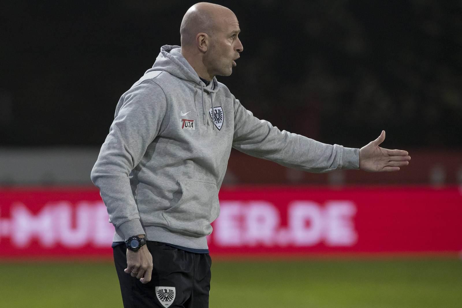 Marco Antwerpen coacht Preußen Münster