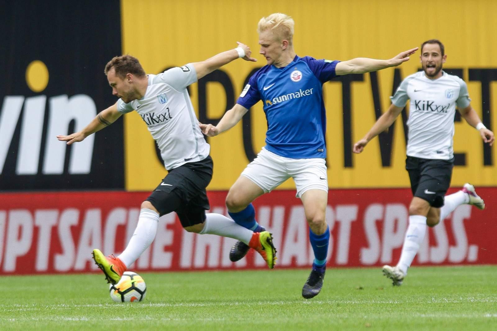 Zweikampf zwischen Granatowski und Henning