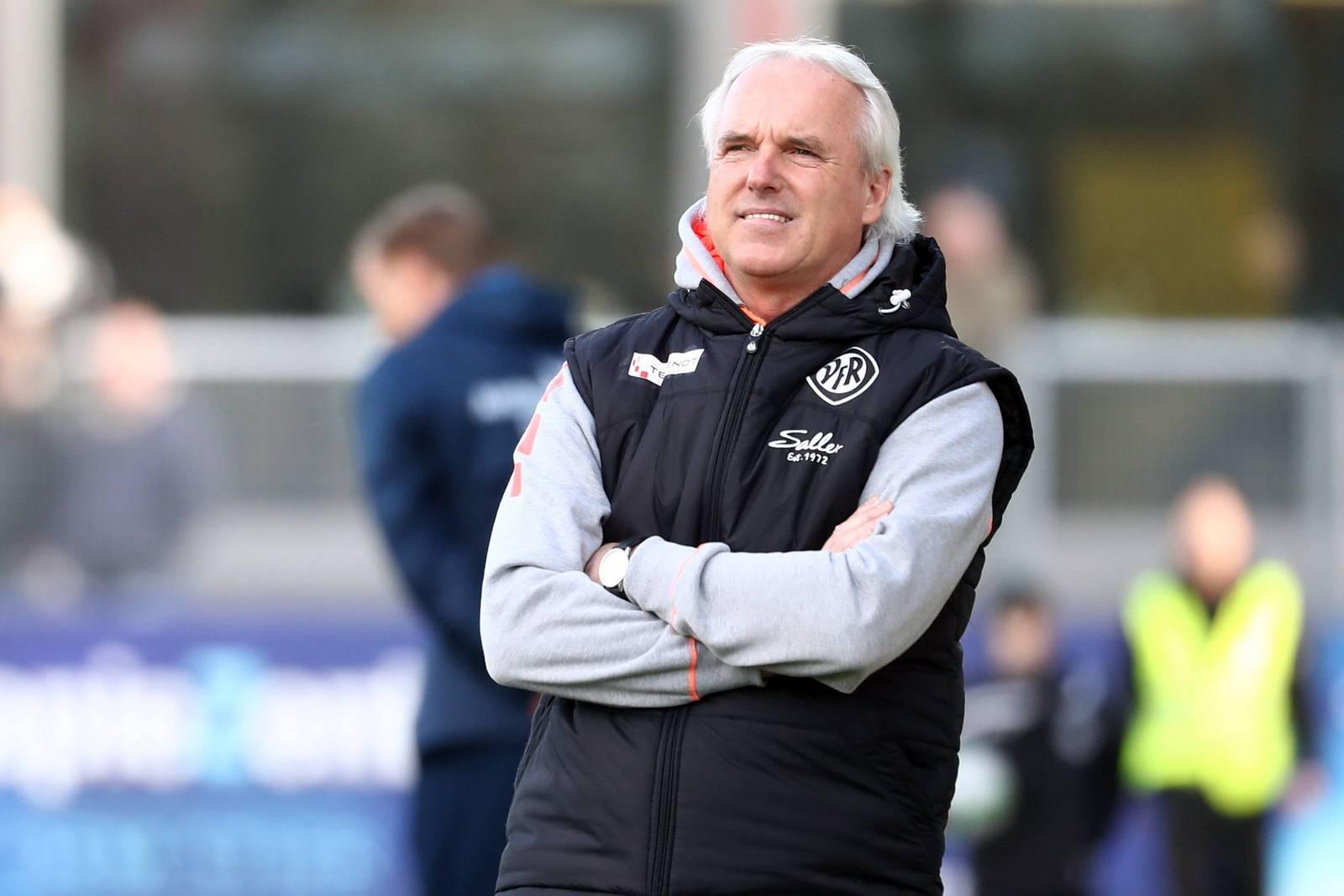 Will weiter in Liga drei arbeiten: Aalens Trainer Peter Vollmann