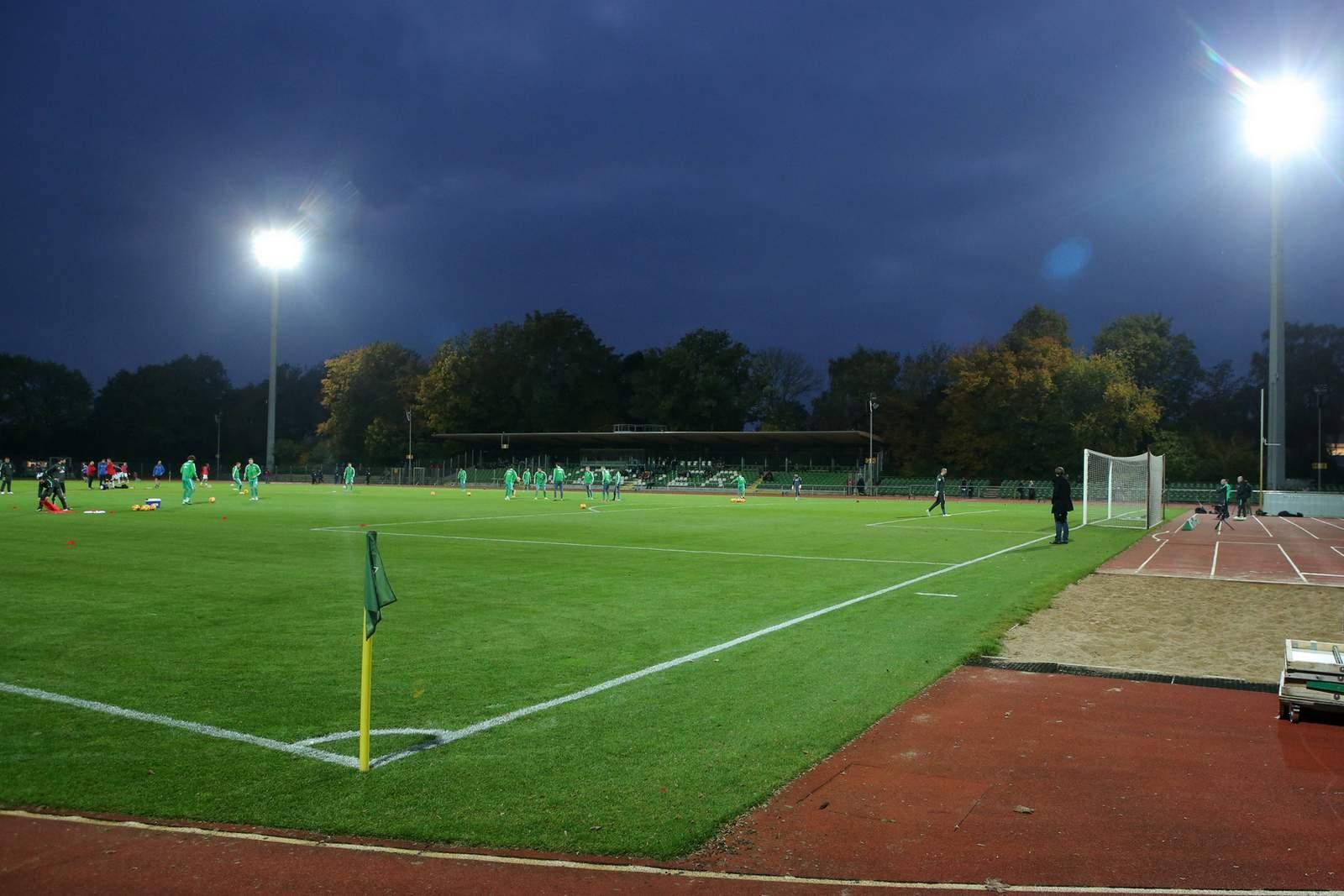 Bremens Nachwuchs trägt auf Platz 11 seine Heimspiele aus.