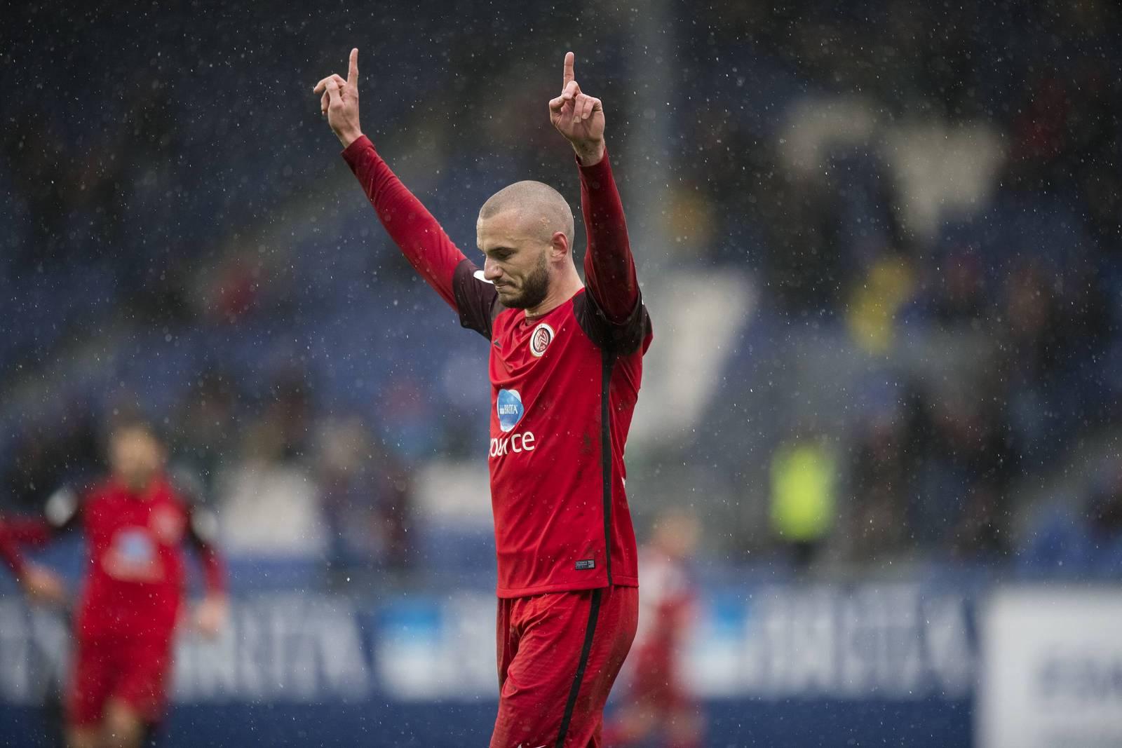 Simon Brandstetter, Stürmer vom SV Wehen Wiesbaden