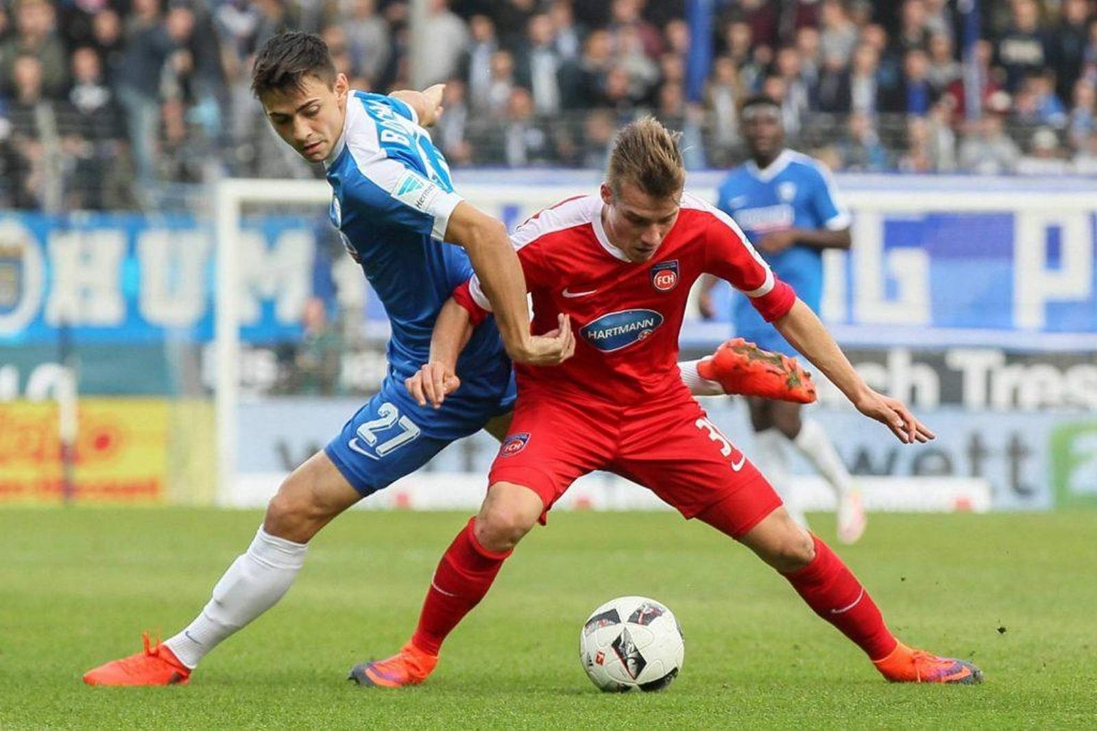 Dominik Widemann vom 1. FC Heidenheim