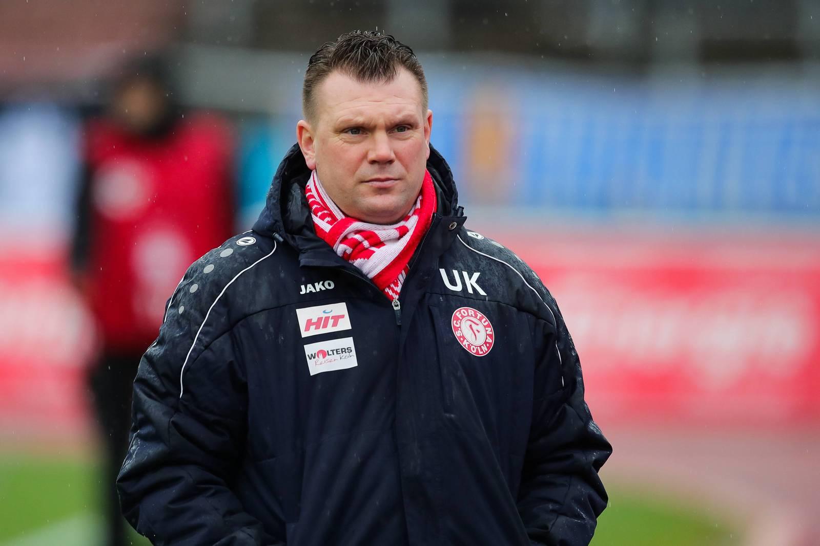 Uwe Koschinat, Trainer bei Fortuna Köln
