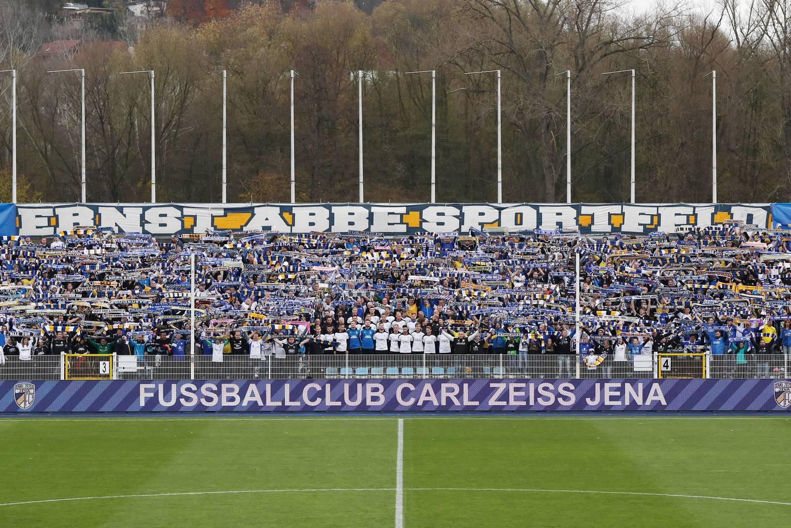 In drei Spieler dieser Saison benahmen sich Jena-Fans daneben.