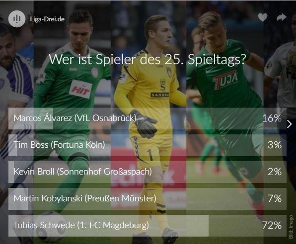 Voting Liga-Drei.de