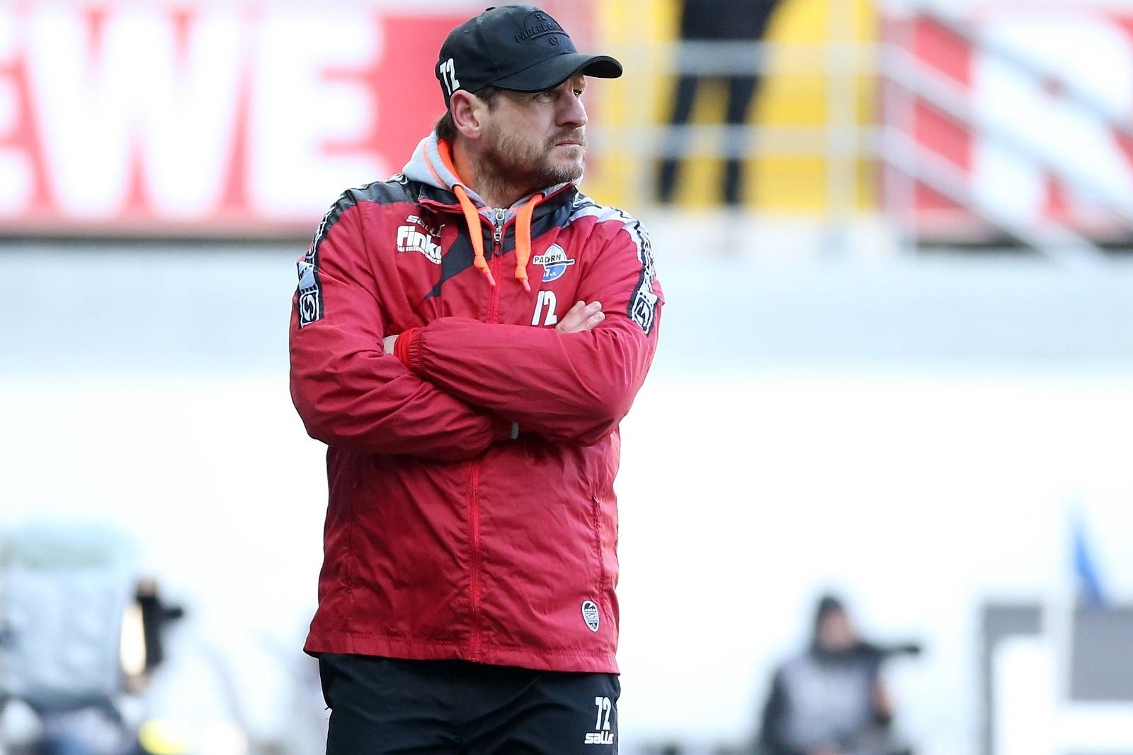 Steffen Baumgart als Coach des SC Paderborn