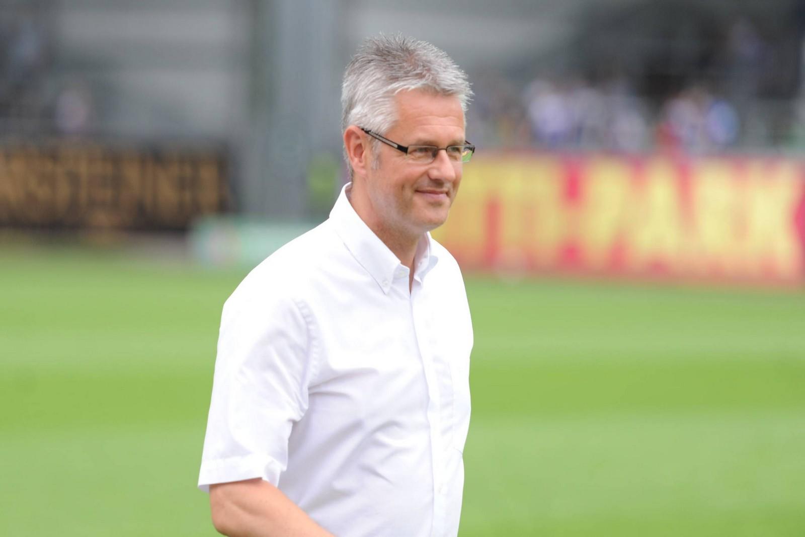 Ralf Heskamp vom Halleschen FC