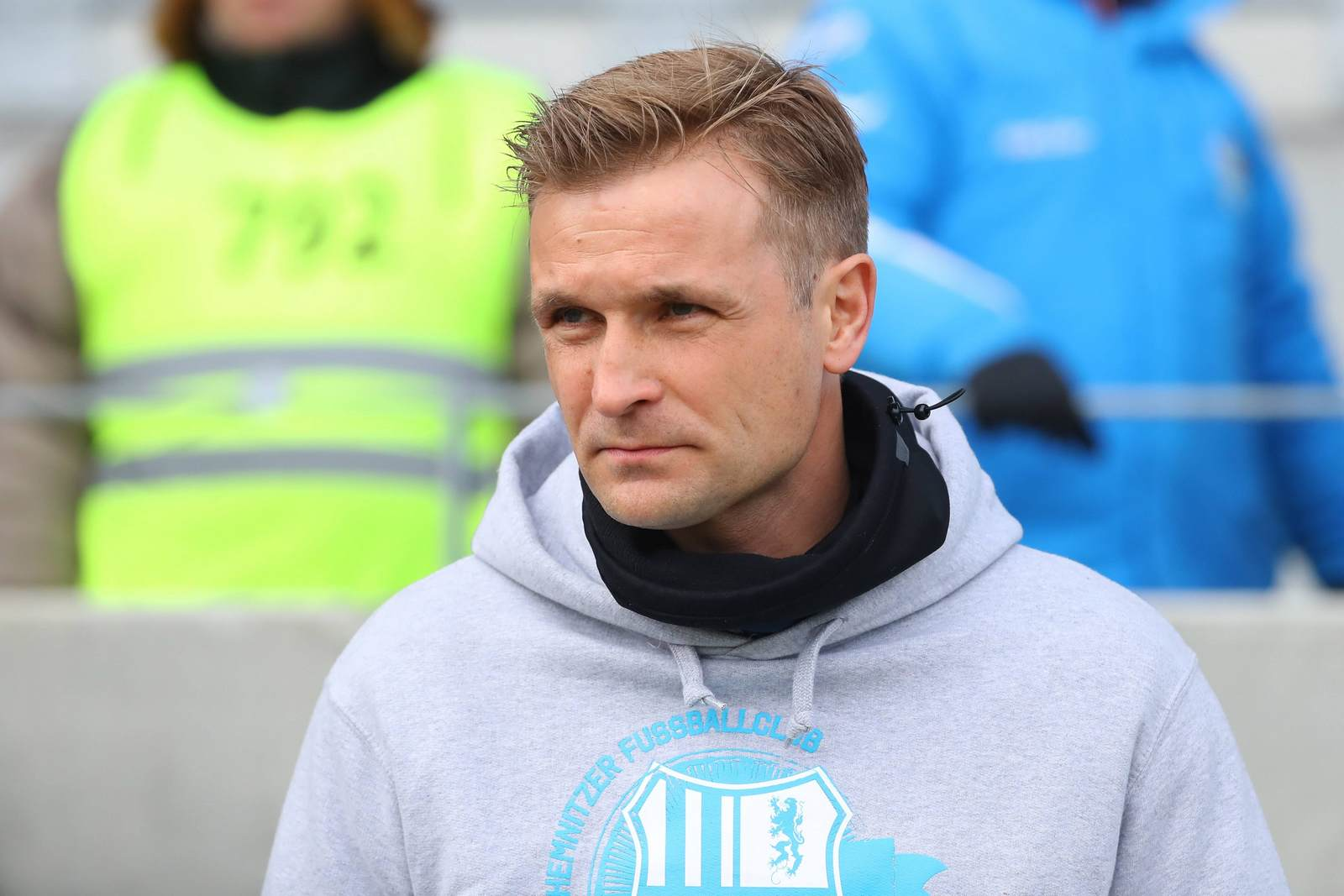 David Bergner war Trainer des Chemnitzer FC