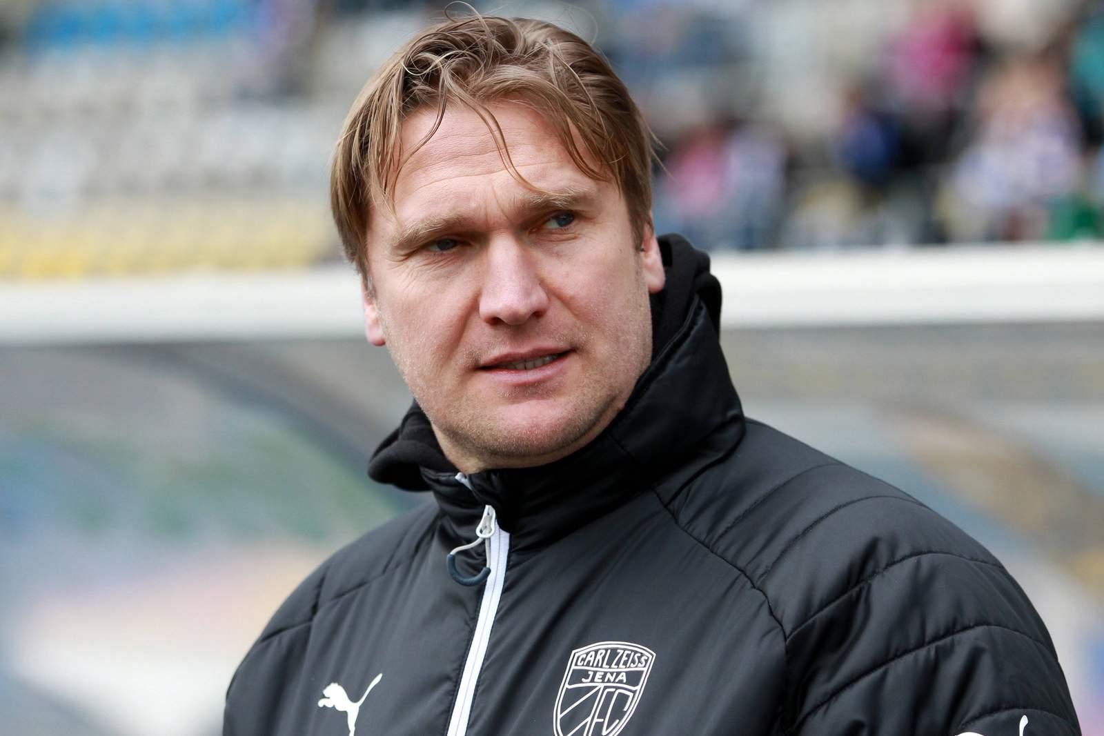 Kenny Verhoene beim FC Carl Zeiss Jena.