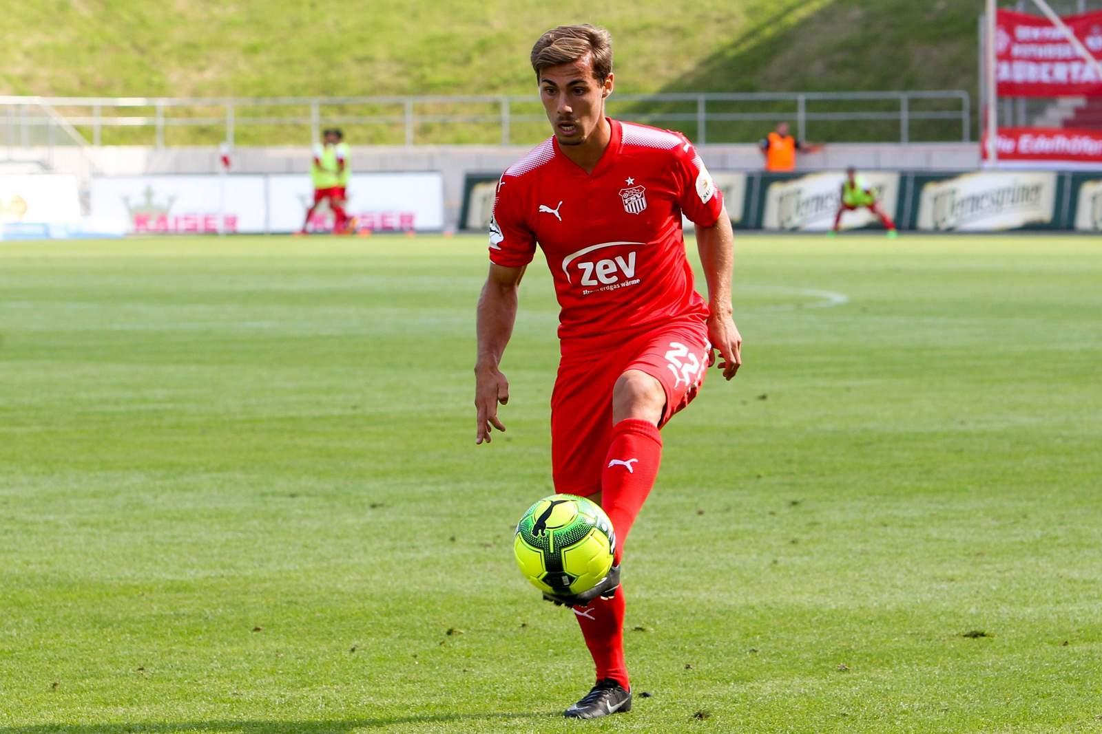 Sinan Tekerci vom FSV Zwickau