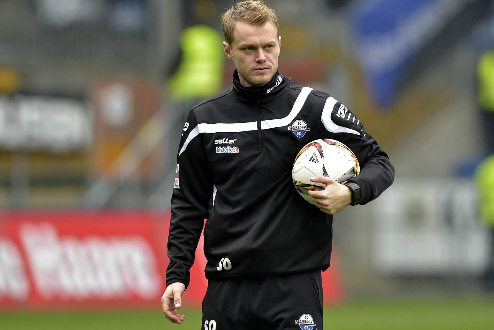 Sören Osterland als Co-Trainer vom SC Paderborn