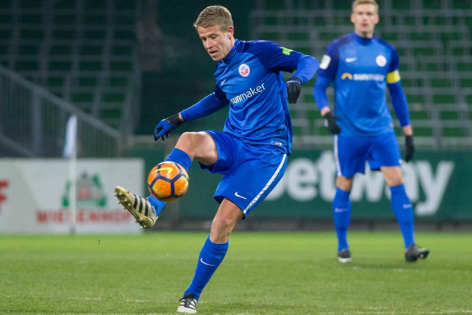 Tommy Grupe vom FC Hansa Rostock