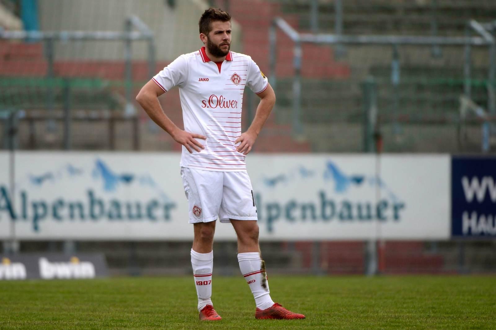Marco Königs bei den Würzburger Kickers