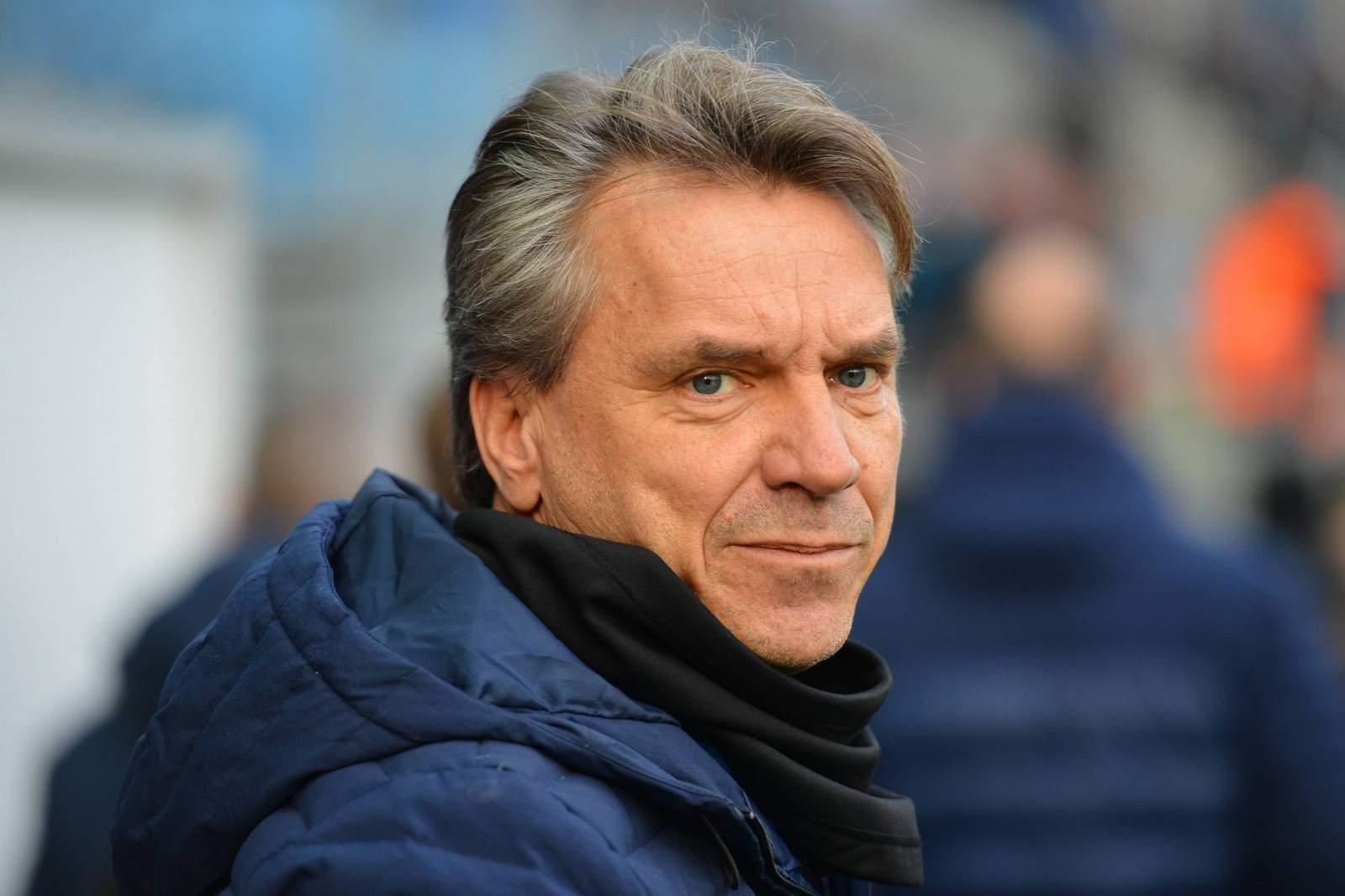 Elversberg-Coach Horst Steffen.