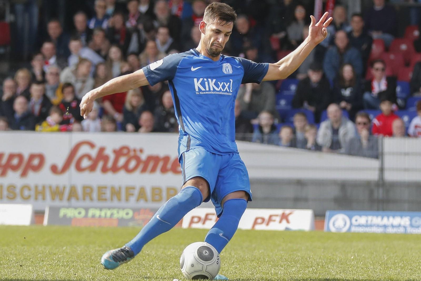 Luka Tankulic vom SV Meppen
