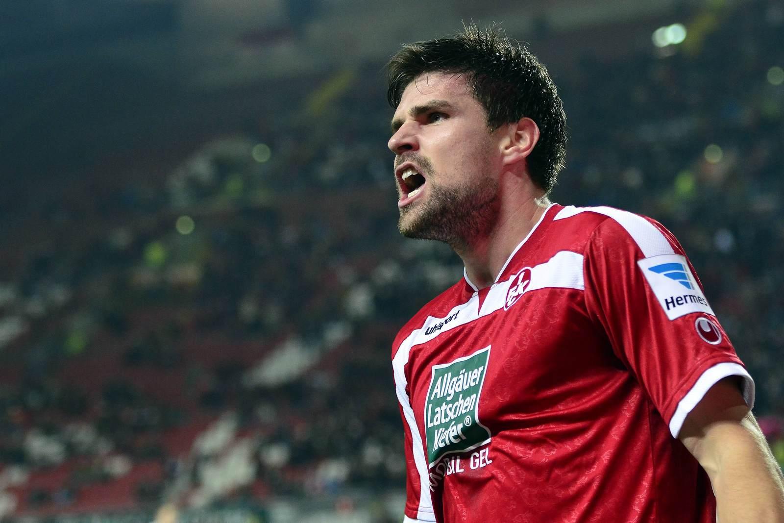 Florian Dick im FCK-Trikot