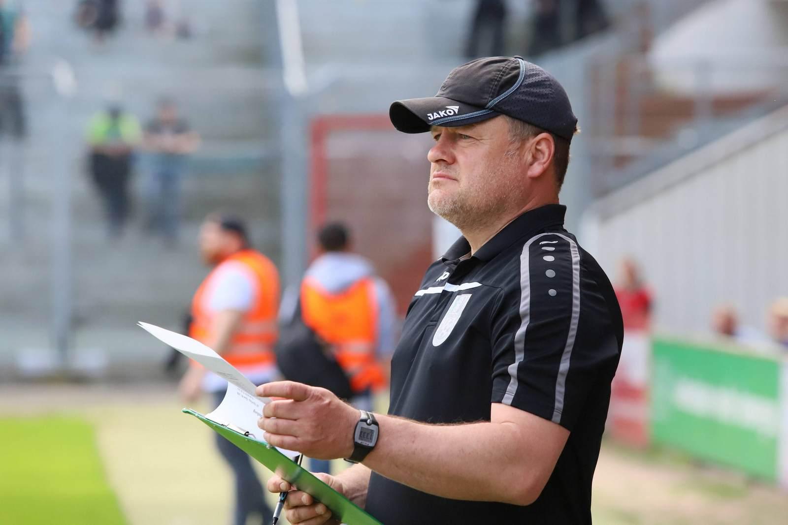 Matthias Maucksch ist neuer Trainer der Sportfreunde Lotte