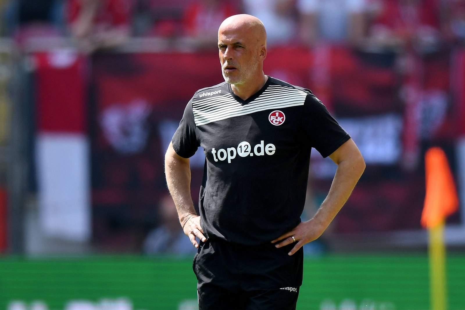 Benötigt Zeit: Kaiserslauterns Trainer Michael Frontzeck