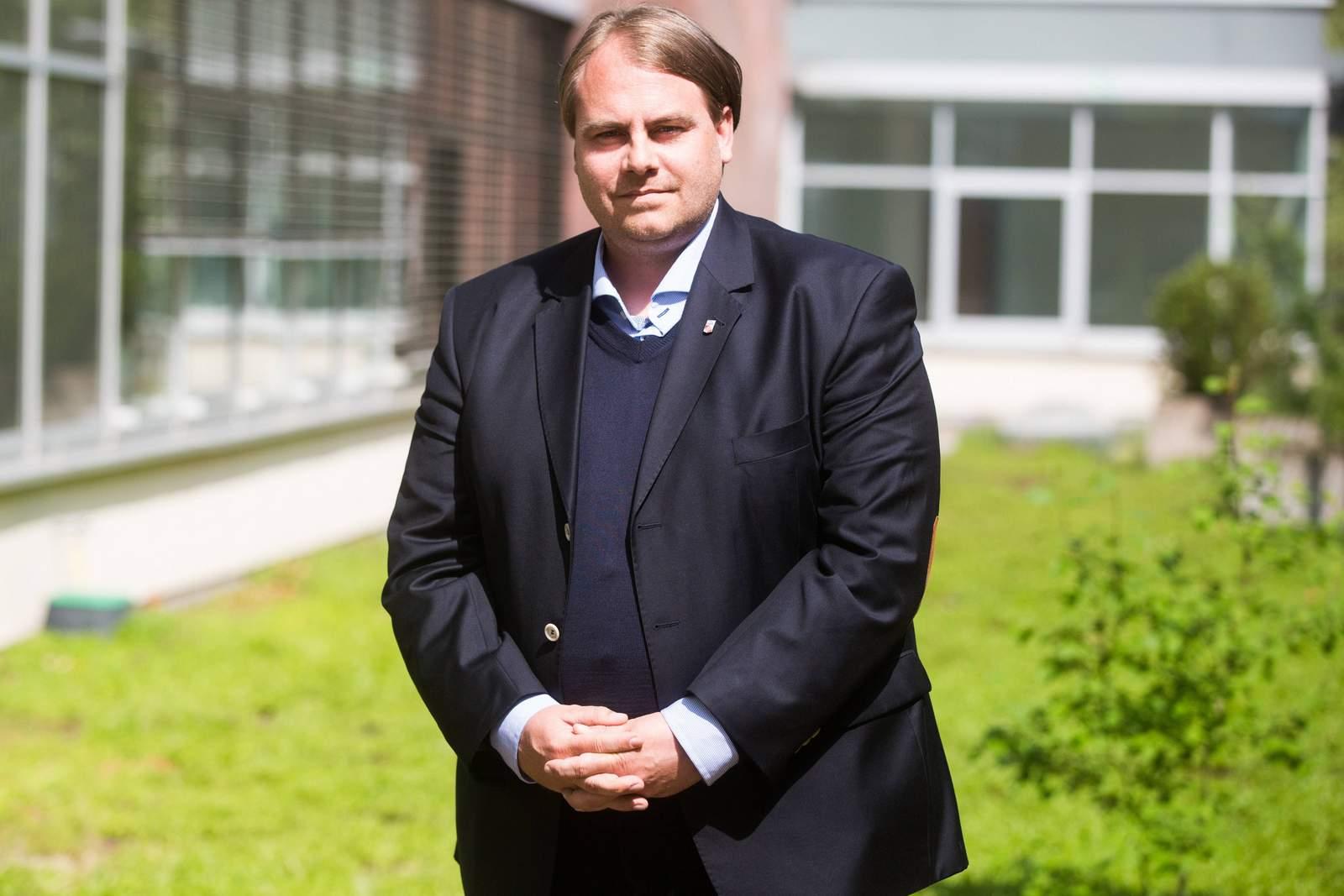 Oliver Bornemann, Sportdirektor von Rot-Weiß Erfurt