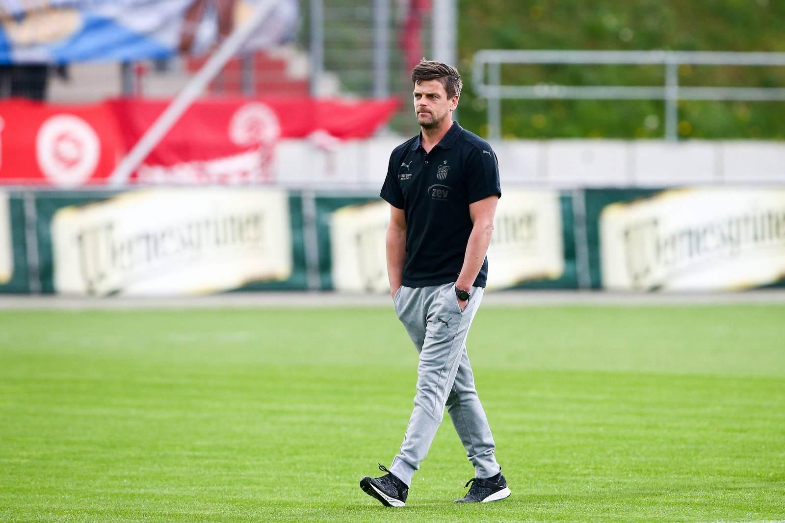 Bittere Rückkeh nach Zwickau: Halles Coach Torsten Ziegner