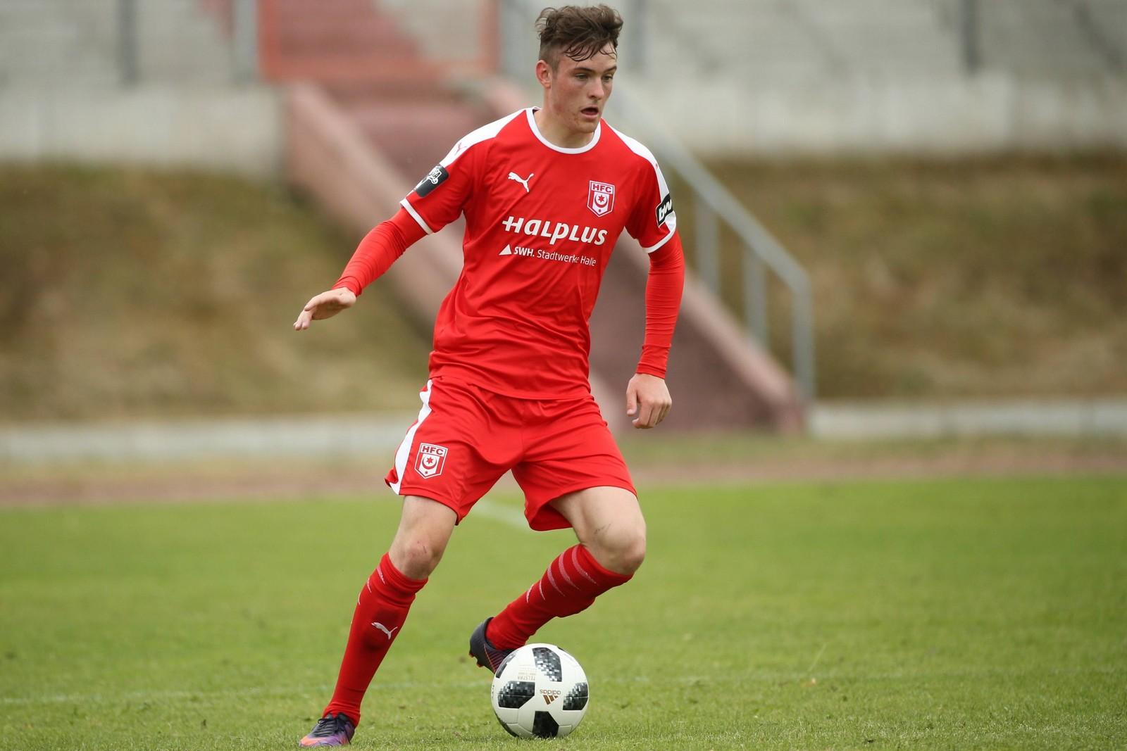 Niklas Kastenhofer kommt aus der Jugend des HFC