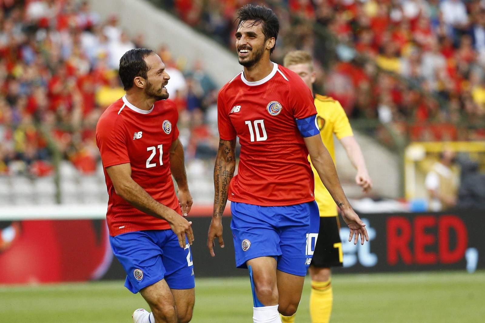 Jubelt Bryan Ruiz gleich im ersten Gruppenspiel? Jetzt auf Costa Rica gegen Serbien wetten.