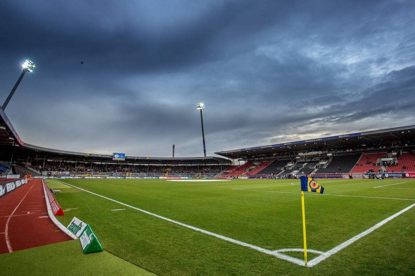 Eintracht Stadion in Braunschweig