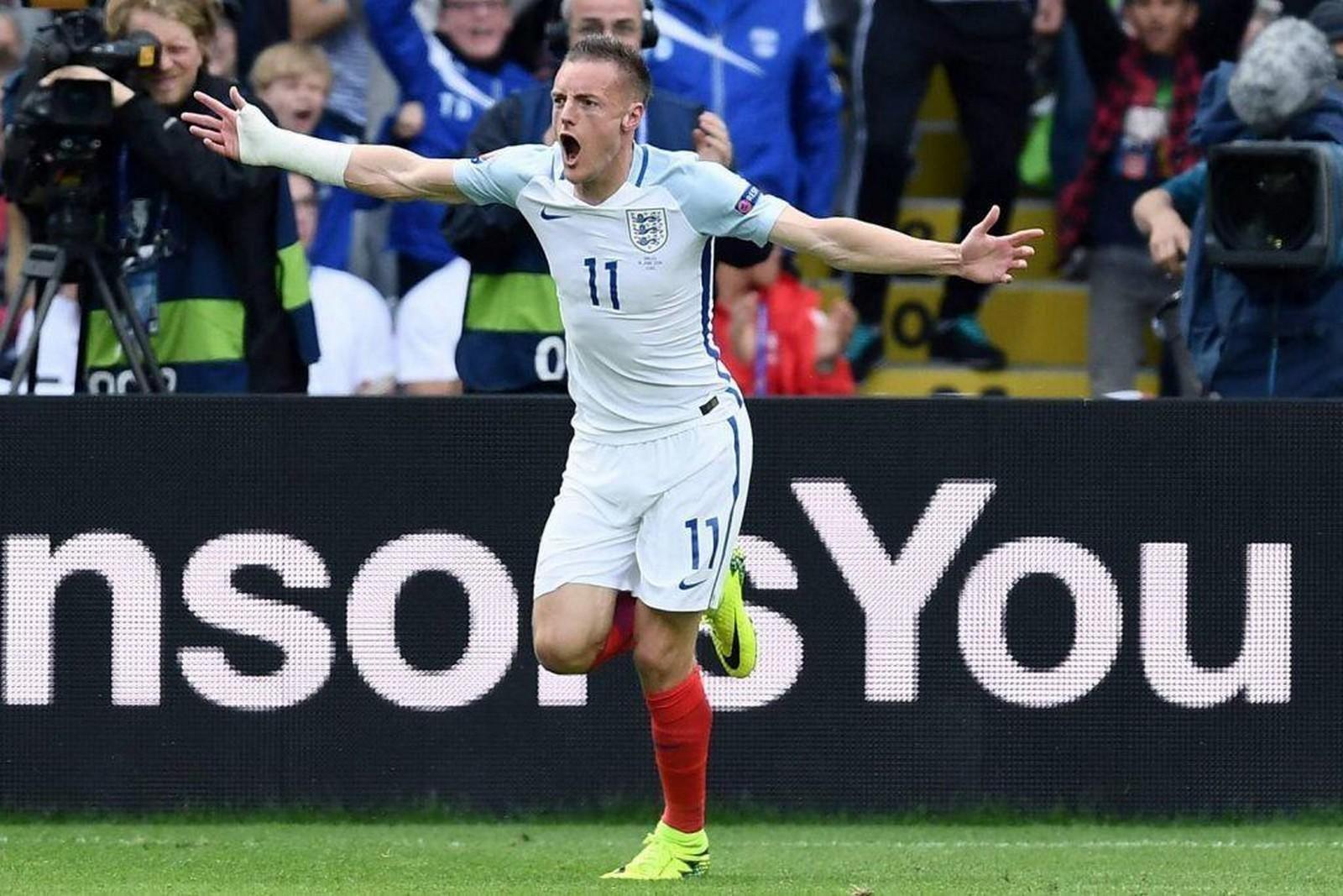 Jubelt Jamie Vardy wieder für England? Jetzt auf Tunesien gegen England wetten!