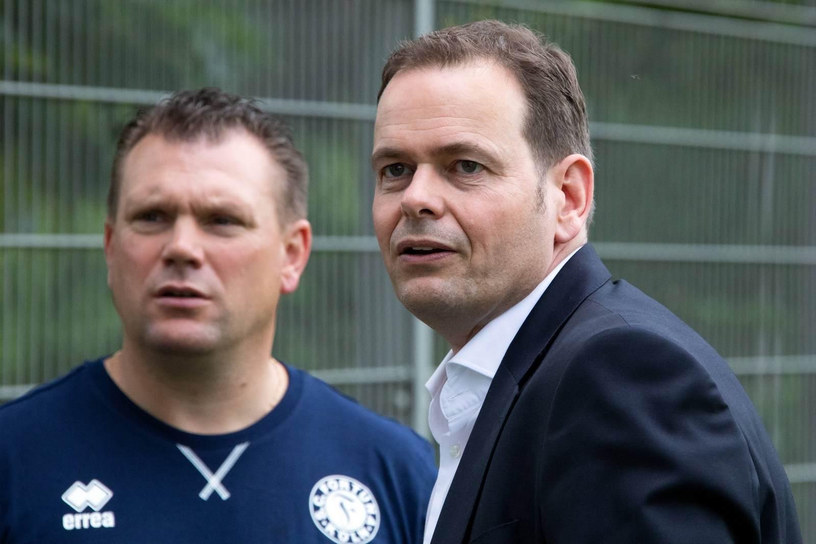 Michael Schwetje ist Geschäftsführer bei Fortuna Köln