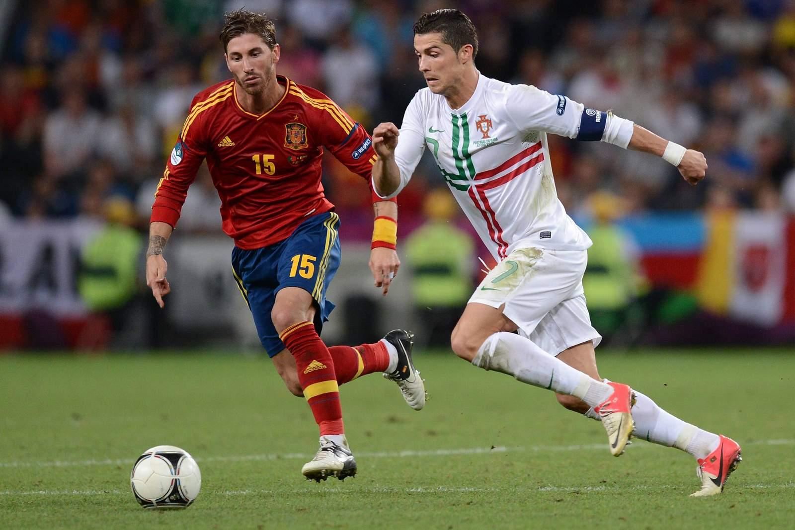 Setzt sich Ronaldo gegen Ramos durch? Jetzt auf Portugal vs Spanien wetten