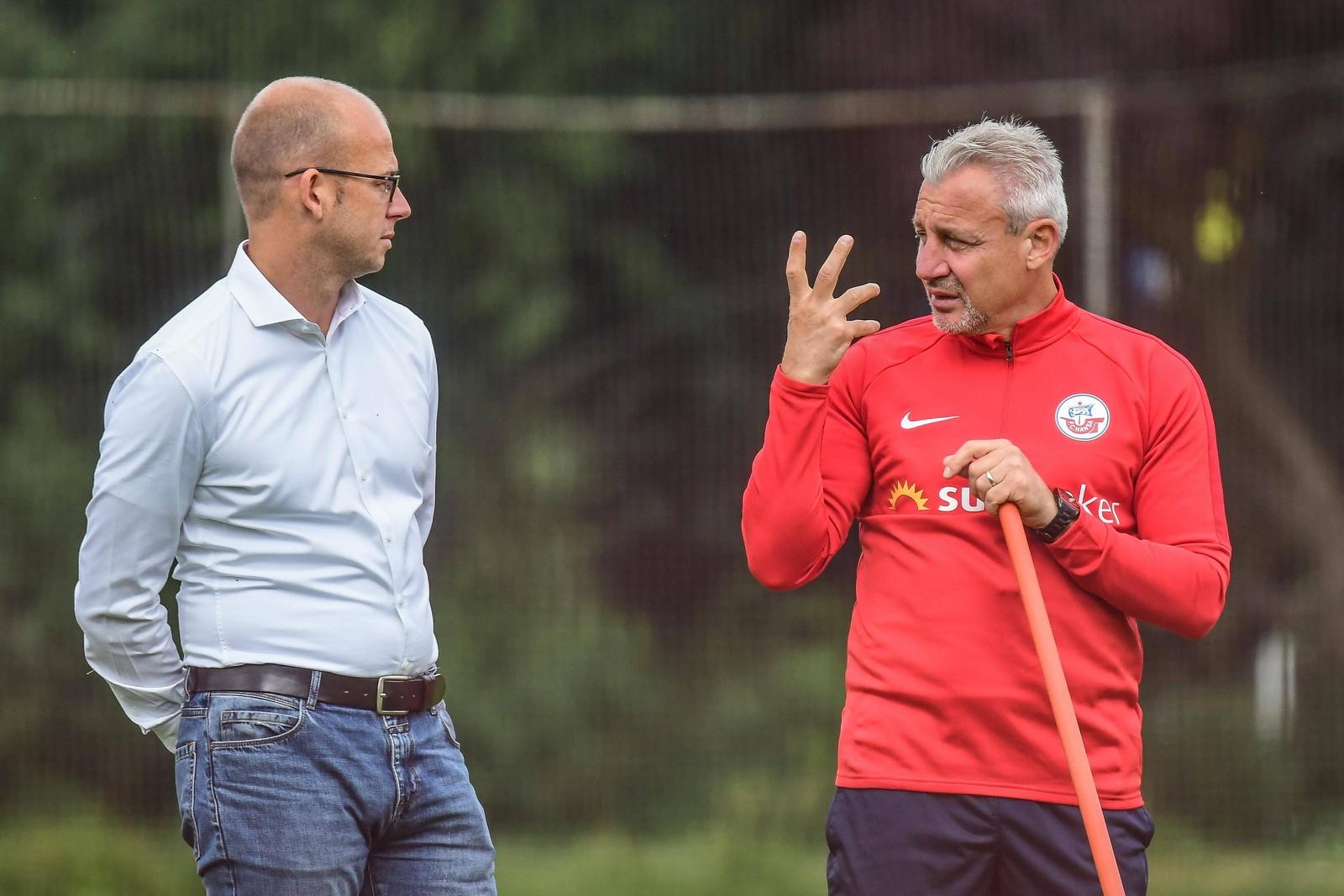 Pavel Dotchev im Gespräch mit Markus Thiele
