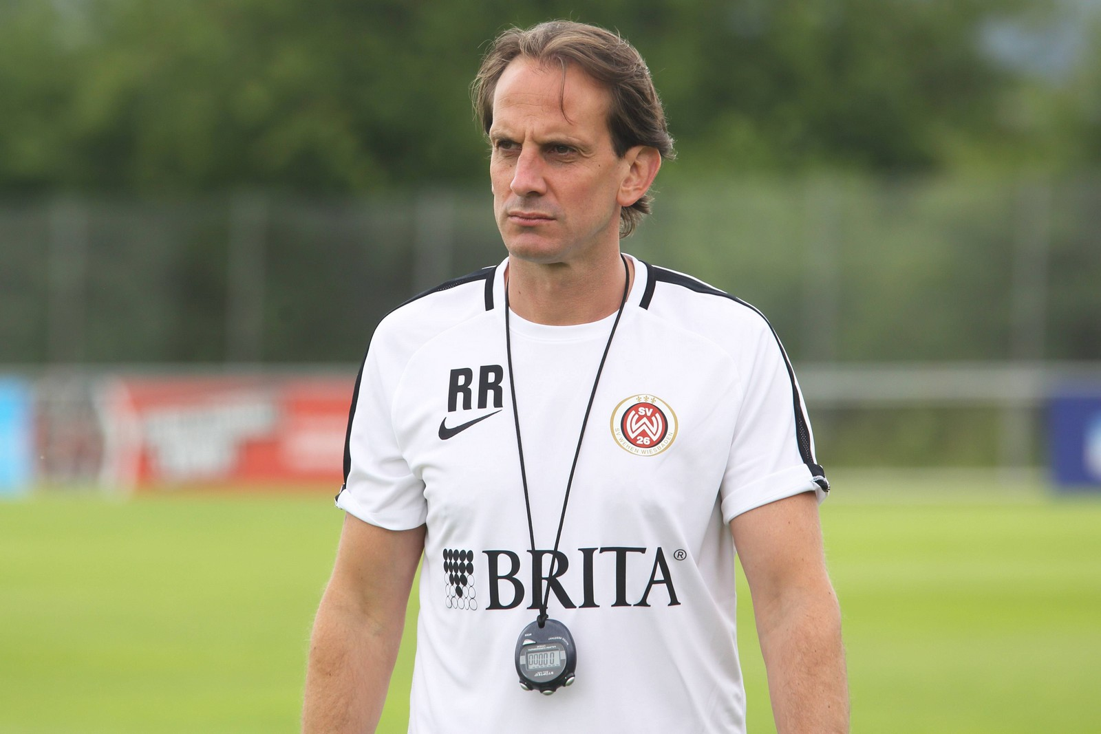 Rüdiger Rehm als Trainer von Wehen Wiesbaden