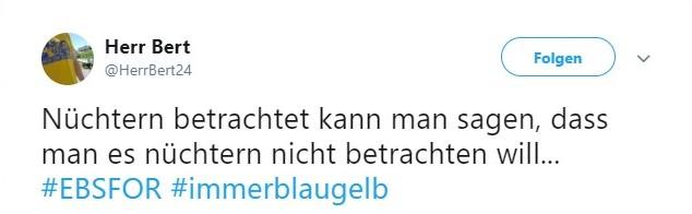 Tweet zu Eintracht Braunschweig vs Fortuna Köln