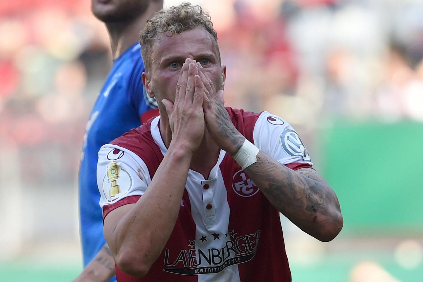 Christoph Hemlein im Spiel gegen die TSG Hoffeneheim