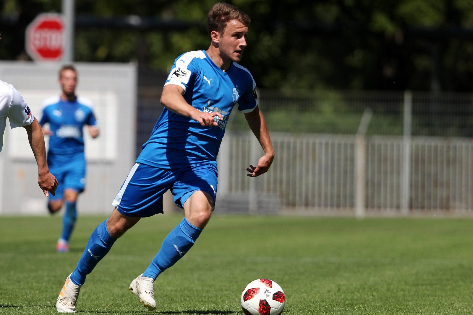 Denis Jäpel vom FC Carl Zeiss Jena