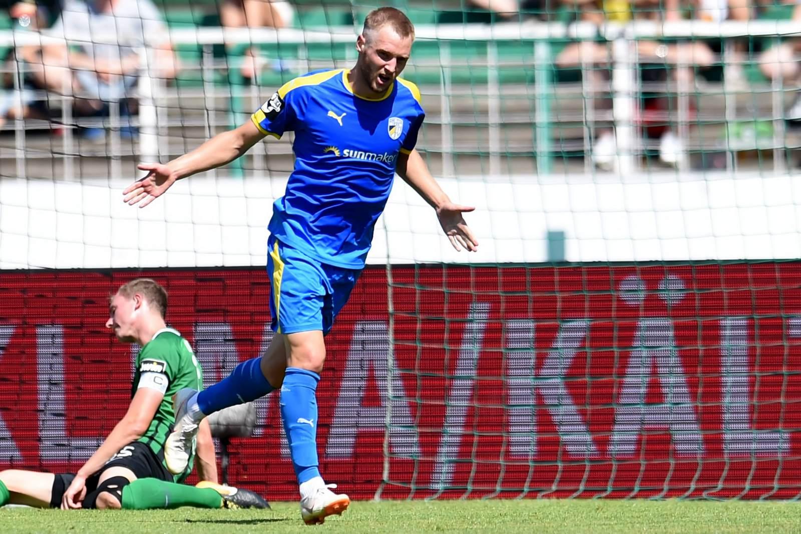 Felix Brügmann vom FC Carl zeiss Jena