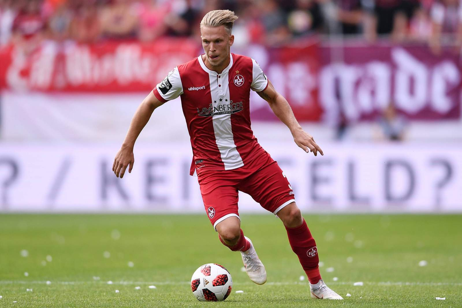 Erzielt Janek Sternberg auch gegen Zwickau ein Tor? Jetzt auf Zwickau gegen Kaiserslautern wetten.