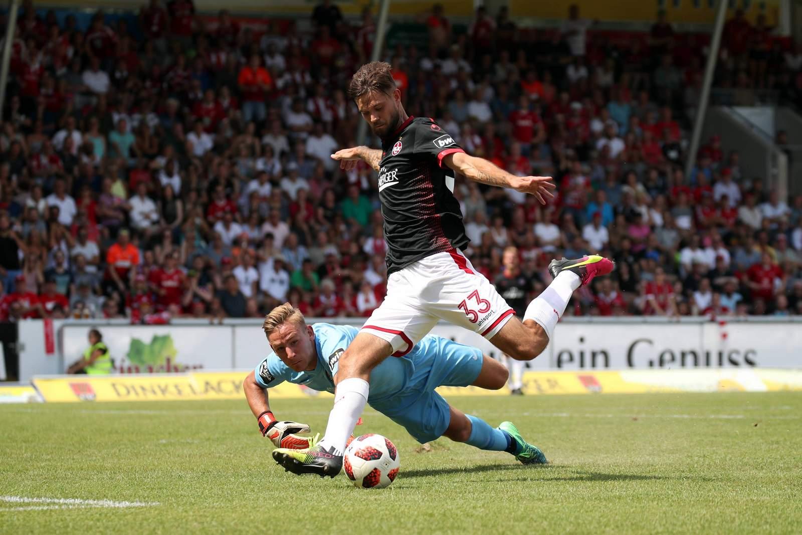 Lukas Spalvis zieht ab. Jetzt auf Kaiserslautern gegen Münster wetten.