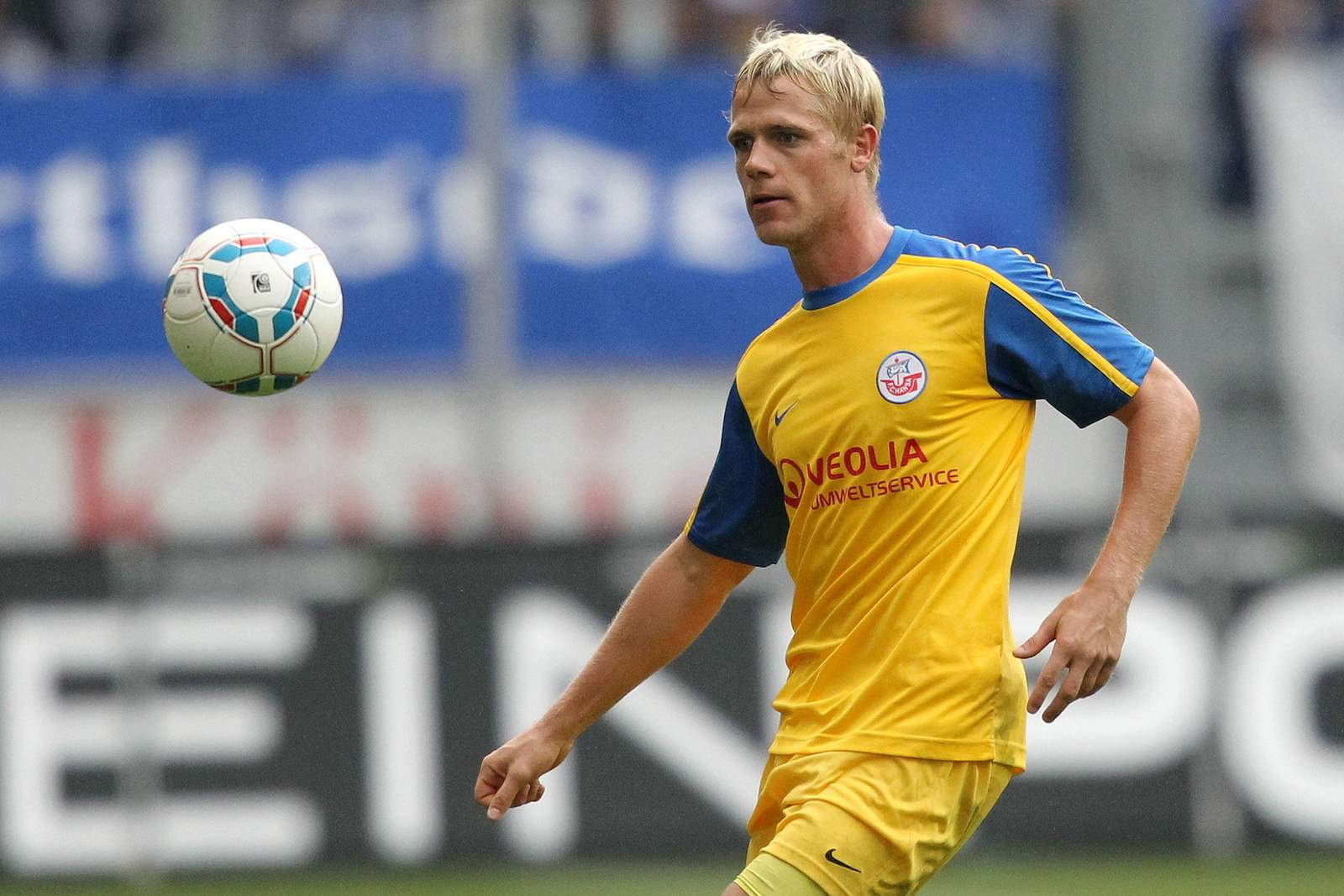 Michael Wiemann von Hansa Rostock in Spiel der 2.Bundesliga