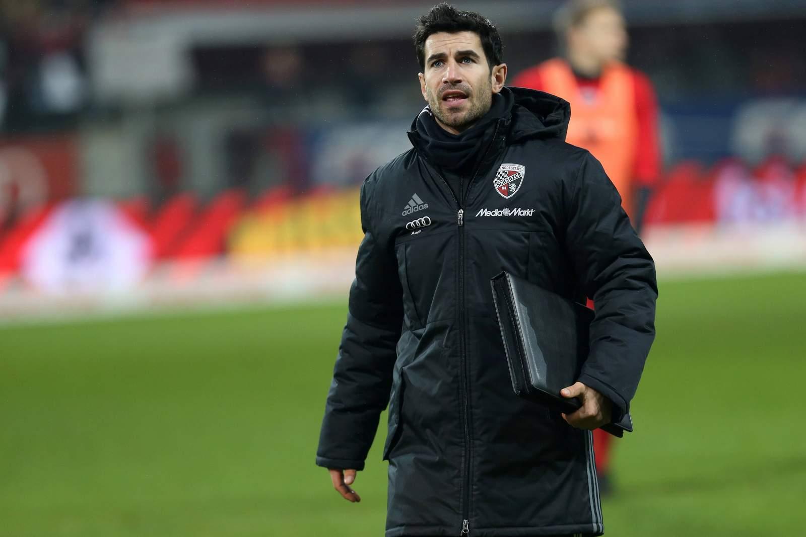 Ovid Hajou als Co-Trainer des FC Ingolstadt