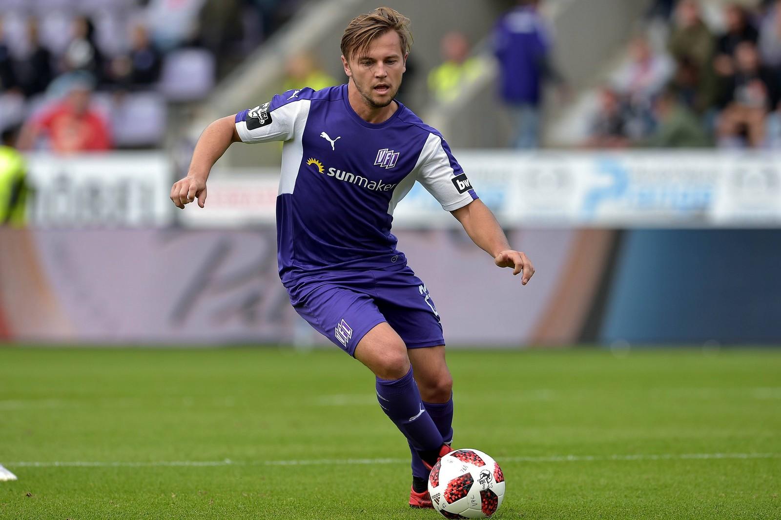 David Blacha am Ball für den VfL Osnabrück