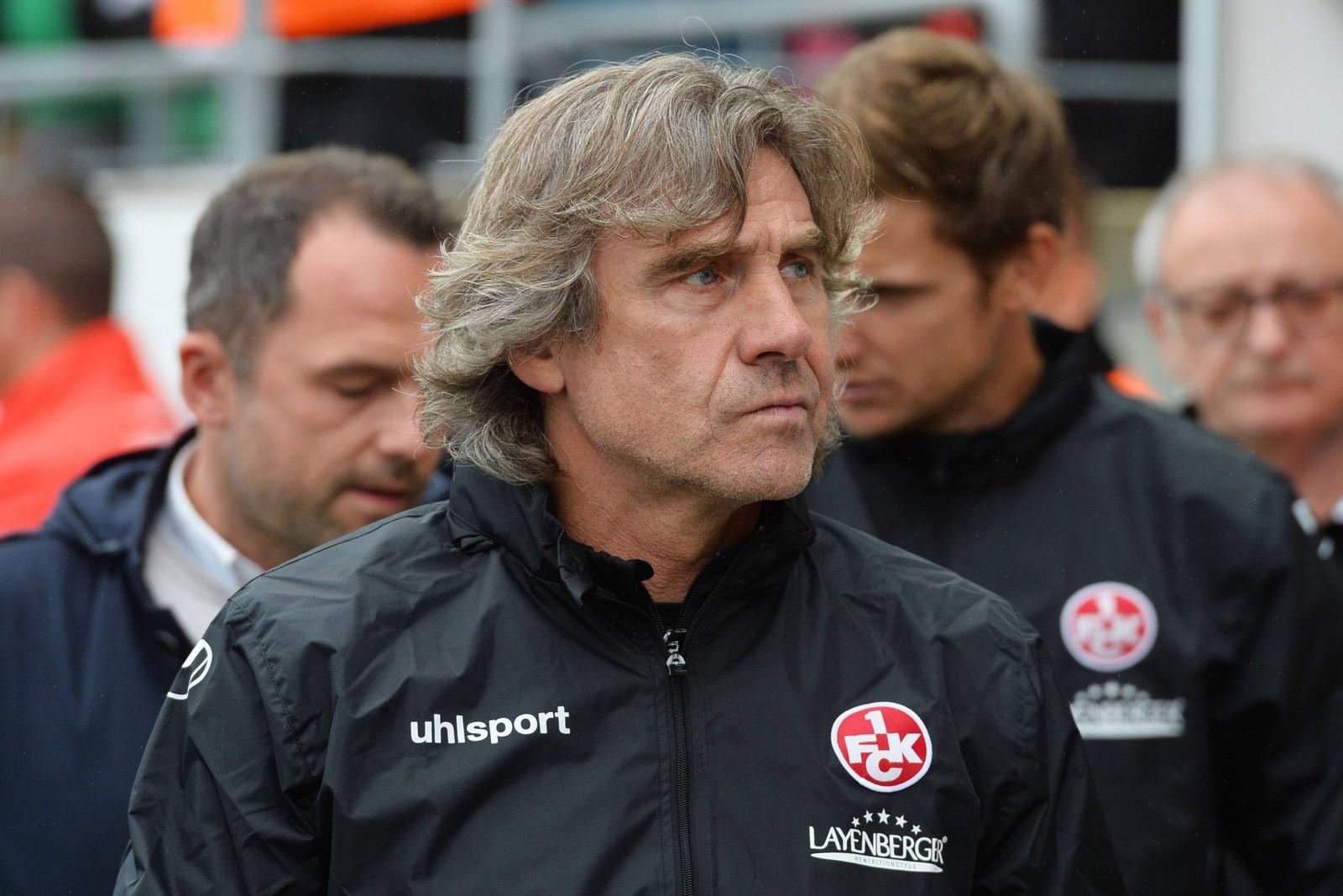 Gerry Ehrmann ist Torwartrainer beim 1. FCK