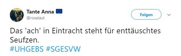 Tweet zu Unterhaching vs Eintracht Braunschweig