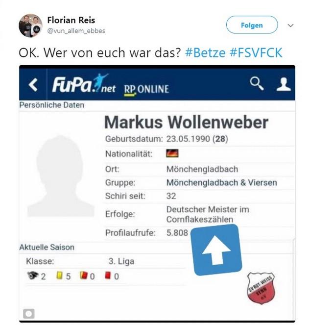Tweet zu Jan Löhmannsröben