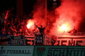 Würzburger Kickers: Pyro-Ärger bei Pleite in Schweinfurt