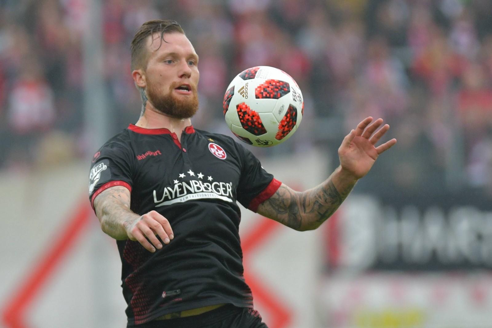 Jan Löhmannsröben vom 1. FC Kaiserslautern