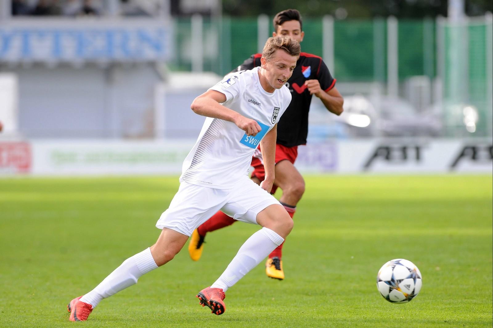Kann in Ulm den Fußball mit einem Medizin-Studium verbinden: Lennart Stoll.