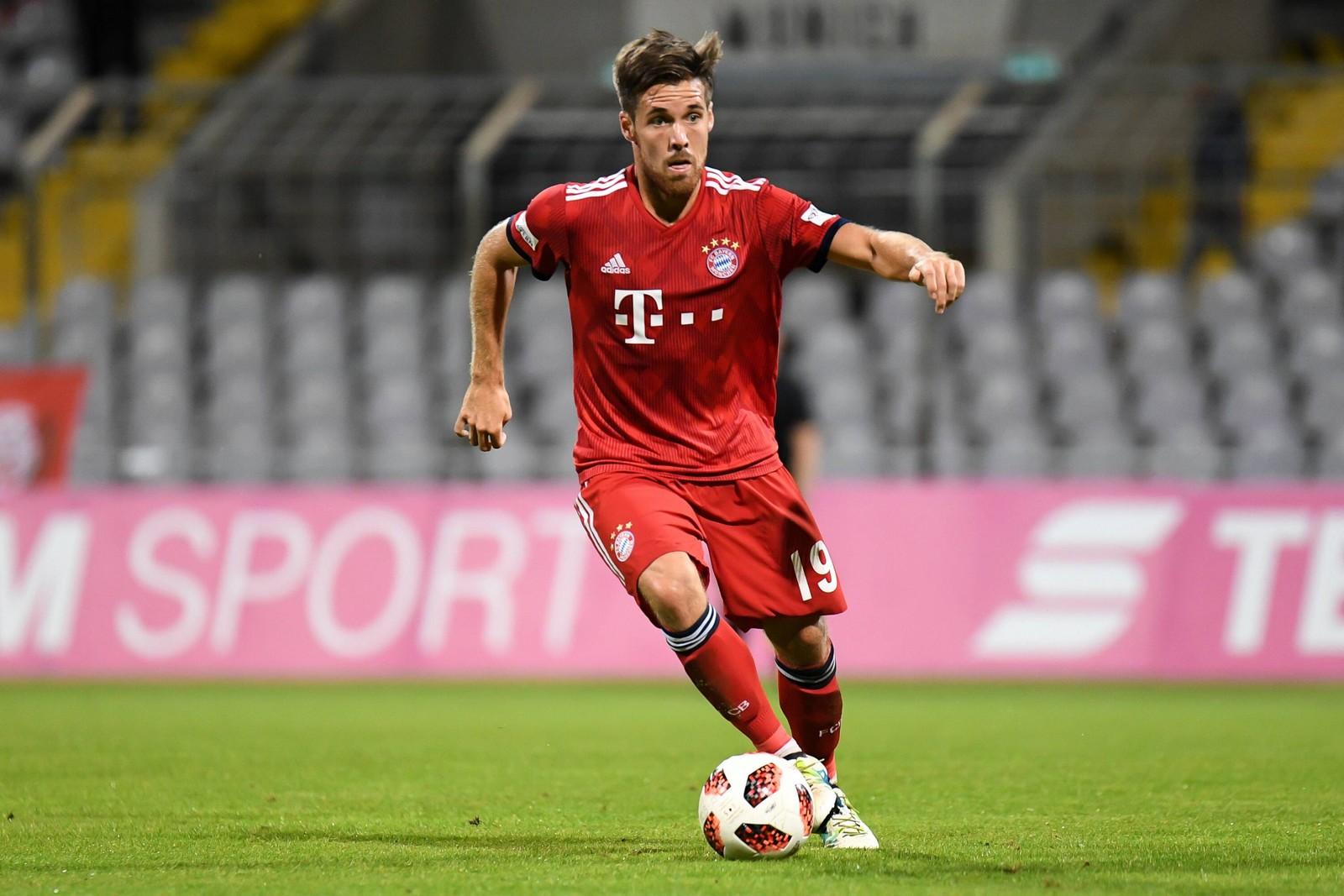 Maximilian Welzmüller beim FC Bayern