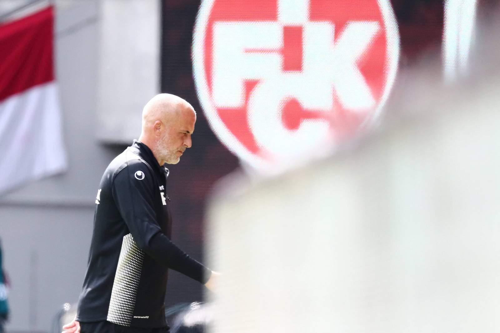 Michael Frontzeck beim 1. FC Kaiserslautern